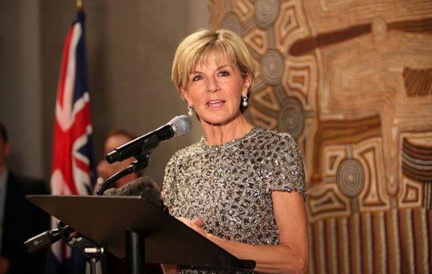 Παραιτήθηκε από υπουργός Εξωτερικών της Αυστραλίας η Τζούλι Μπίσοπ