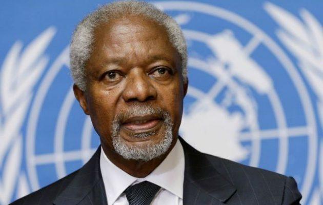 Πέθανε ο Κόφι Ανάν πρώην Γενικός Γραμματέας του ΟΗΕ