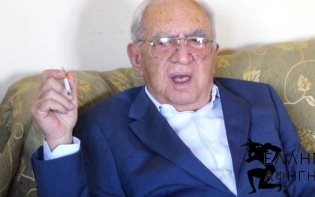 Πέθανε ο εκδότης του περιοδικού «Δαυλός» Δημήτρης Λάμπρου