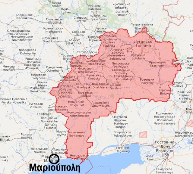 Πρόεδρος της Ουκρανίας πρότεινε να τεθεί η Μαριούπολη υπό ελληνική «προστασία»