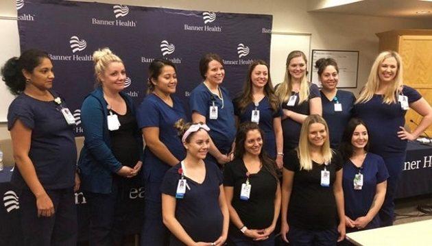 16 νοσηλεύτριες είναι ταυτόχρονα έγκυες στο ίδιο νοσοκομείο