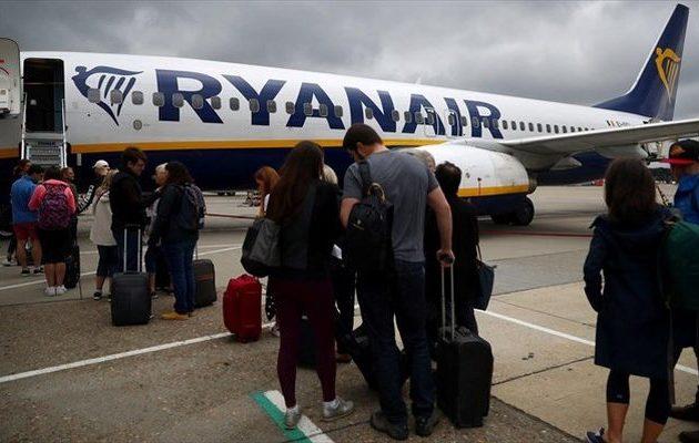 Η Ryanair ανακοίνωσε ότι θα διακόψει την αεροπορική σύνδεση Αθήνας-Θεσσαλονίκης
