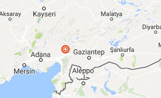 Σεισμός 4,8 Ρίχτερ στη νοτιοδυτική Τουρκία