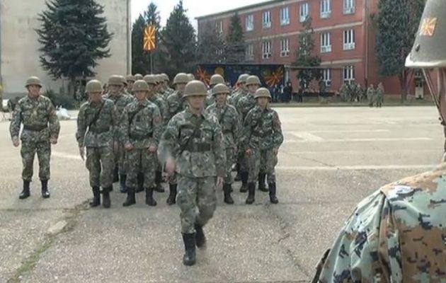 Σε ελεεινή κατάσταση ο στρατός στα Σκόπια – Απλήρωτοι και δεν έχουν ούτε στολές να φορέσουν