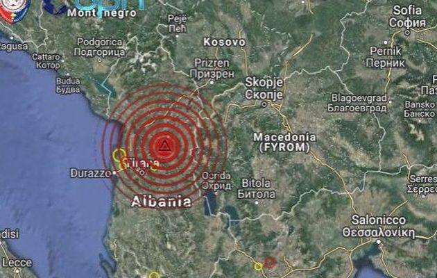 Αλβανία: Σεισμός 5,1 Ρίχτερ στα Τίρανα