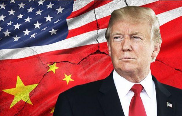 Τραμπ προς Κίνα: Καταλήξτε τώρα σε συμφωνία μαζί μας – Αργότερα θα είναι χειρότερα