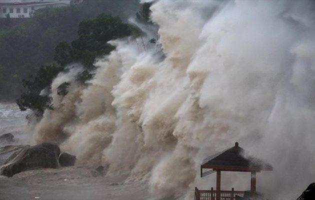 Συναγερμός στην Κίνα λόγω του «Γιαγκί» – Απομάκρυναν πάνω από 200.000 άτομα