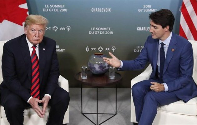 Ο Τραμπ και ο Καναδός πρωθυπουργός είχαν μια «εποικοδομητική συνομιλία» – Τι συζήτησαν
