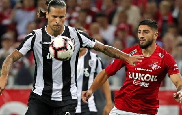 «Πέταξε» για play off o ΠΑΟΚ: 0-0 στην Μόσχα απέναντι στη Σπαρτάκ