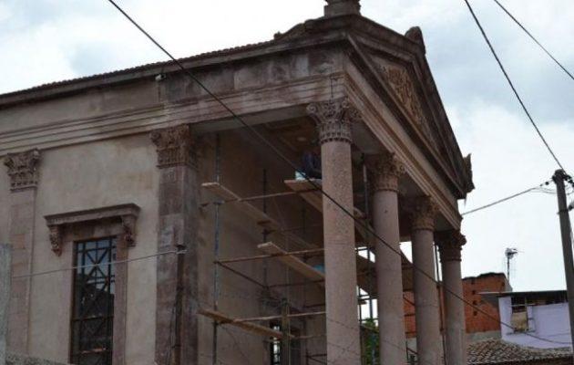 Ο Οικ. Πατριάρχης εγκαινιάζει το ξακουστό «Αγίασμα» της Παναγίας της Φανερωμένης στο Αϊβαλί