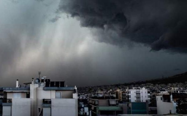 Καιρός: Βροχές και καταιγίδες την Τετάρτη