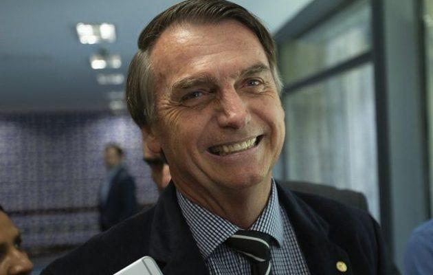 Ο ακροδεξιός Μπολσονάρου προηγείται στη Βραζιλία και μέσα από το… νοσοκομείο – Τι έδειξε δημοσκόπηση