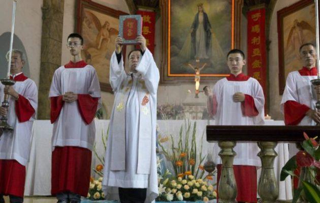 Η Καθολική Εκκλησία στην Κίνα ορκίστηκε πίστη στο Κομμουνιστικό Κόμμα