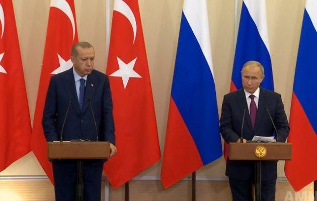 Οι Ρώσοι «πούλησαν» και τους Σύρους – Σεργκέι Σόιγκου: «Δεν θα υπάρξει επίθεση στην Ιντλίμπ»