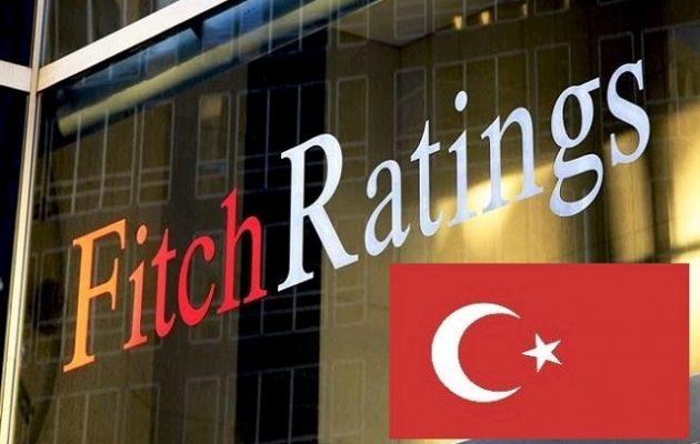 Fitch: Κινδυνεύει η ρευστότητα των τουρκικών τραπεζών