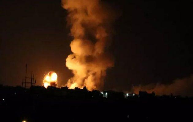 Το Ισραήλ βομβάρδισε βαριά τους τρομοκράτες της Χαμάς στη Γάζα