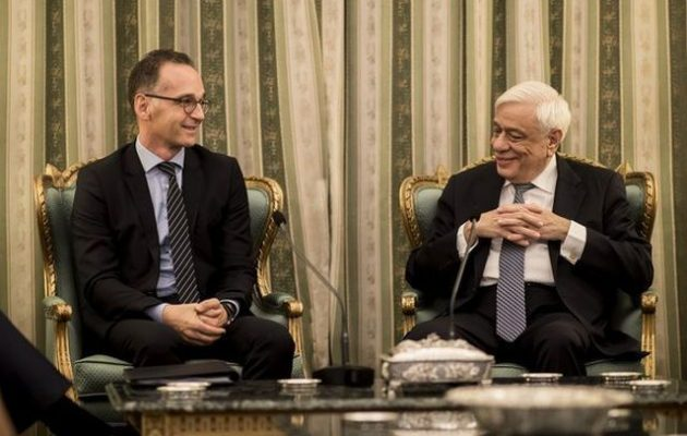 Χάικο Μάας: Ο ελληνικός λαός και η κυβέρνησή του αξίζουν μεγάλο σεβασμό