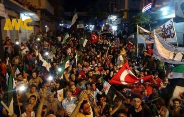 Η συριακή κυβέρνηση «πανηγυρίζει» την παραχώρηση της Ιντλίμπ στην Τουρκία από τους Ρώσους
