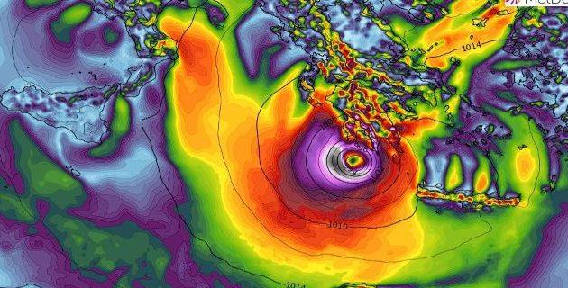 Κυκλώνας «Ζορμπάς»: Ακραία καιρικά φαινόμενα ως την Κυριακή – Κλειστά όλα τα σχολεία στην Αττική
