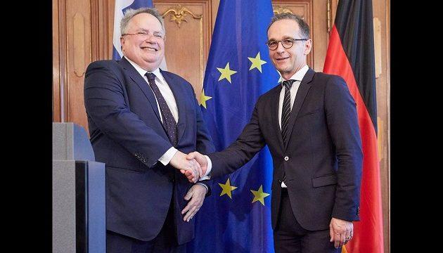 O Kοτζιάς θα συναντήσει τον Γερμανό ΥΠ.ΕΞ. την Πέμπτη – Στην ατζέντα τα Δυτικά Βαλκάνια