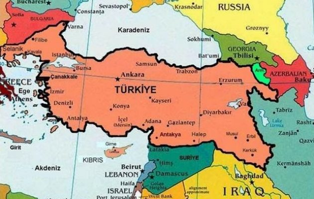 «Μετά τη Συρία ακολουθούν Κύπρος και Αιγαίο» – Ο «Όρκος του Έθνους» έχει επόμενο στόχο την Ελλάδα