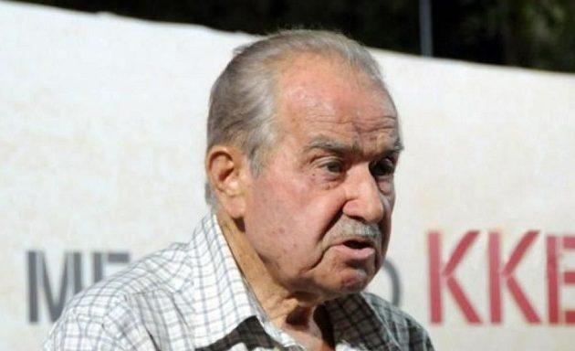 Πέθανε το ιστορικό στέλεχος του ΚΚΕ Γιώργης Μωραΐτης