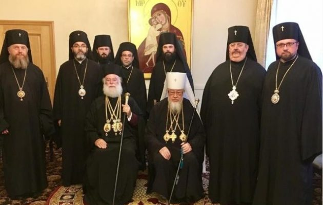 Κοινή έκκληση υπέγραψαν Πατριάρχης Αλεξάνδρειας και Μητροπολίτης Βαρσοβίας για το θέμα της Ουκρανίας