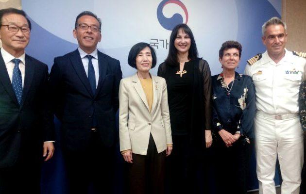 Υπέρ της Κουντουρά η Υπ. Βετεράνων της Ν. Κορέας για απευθείας αεροπορική σύνδεση Αθήνας-Σεούλ