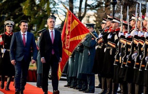 Γενς Στόλτενμπερκ: Η Συμφωνία των Πρεσπών προϋπόθεση για να ενταχθούν τα Σκόπια στο ΝΑΤΟ