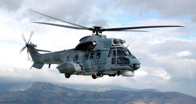 Super Puma της Πολεμικής Αεροπορίας έσωσε Βελγίδα μέσα στο σκοτάδι του Αιγαίου (βίντεο)
