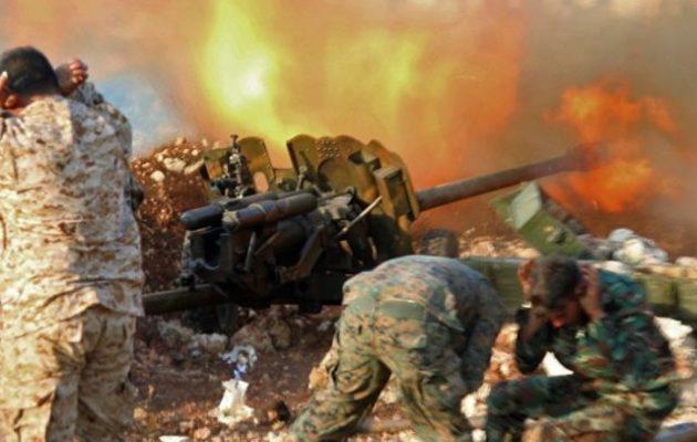 Υποχωρούν οι τζιχαντιστές του Ερντογάν βόρεια της Χάμα – Προελαύνει ο συριακός στρατός