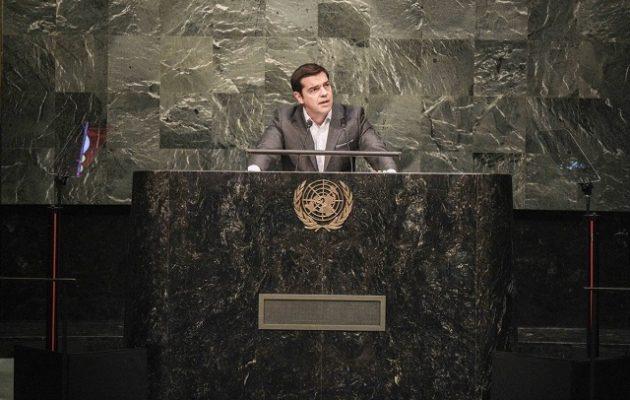 Τσίπρας: Η Ελλάδα με τη δημοκρατική πατριωτική επιλογή – Μπλόκο στις υπερεθνικές ελίτ
