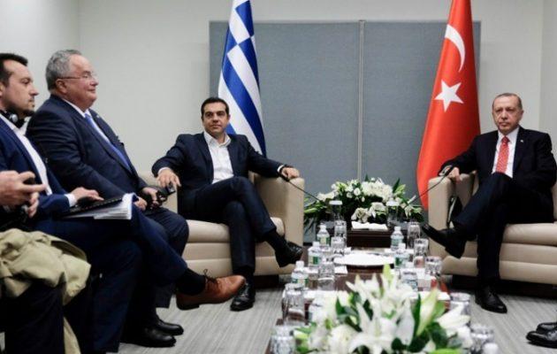 Πρόσκληση Ερντογάν σε Τσίπρα στην Πόλη – Καλό κλίμα και συστάσεις Τσίπρα να… μαζευτεί στο Αιγαίο
