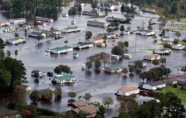 Στους 31 οι νεκροί από το πέρασμα του φονικού τυφώνα Φλόρενς στις ΗΠΑ