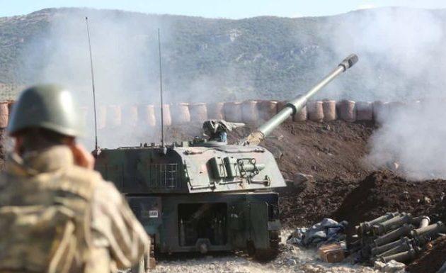 Οι Τούρκοι βομβάρδισαν κουρδικές θέσεις στη βορειοδυτική Συρία