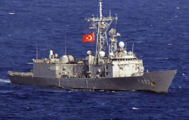 Η Τουρκία δεσμεύει τη θάλασσα μεταξύ Ρόδου και Καστελόριζου για ναυτική άσκηση