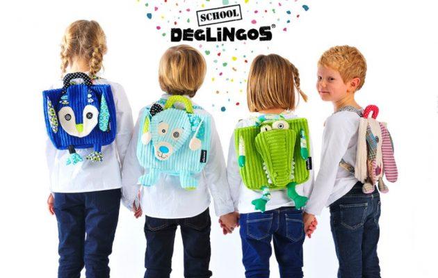 Σούπερ μοντέρνες σχολικές τσάντες Deglingos σε νέες χαμηλότερες τιμές!!!