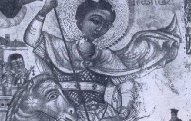 Επέστρεψε στην Κύπρο από την Ελβετία εικόνα του Αγίου Γεωργίου του δρακοκτόνου που είχε συληθεί
