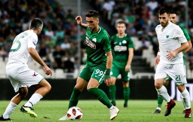 «Τρένο» ο Παναθηναϊκός νίκησε 3-0 τον Λεβαδειακό