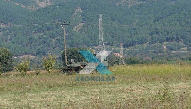Στρατιωτικό drone συνετρίβη στη Ροδόπη