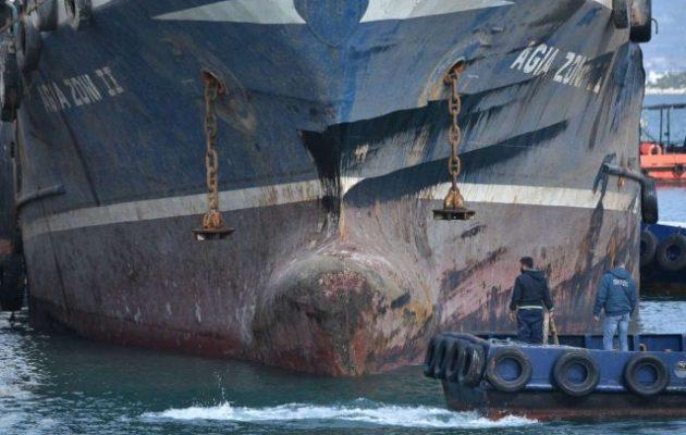 Πόρισμα για «Αγία Ζώνη ΙΙ»: Δεν φταίνε τα ρήγματα για το ναυάγιο