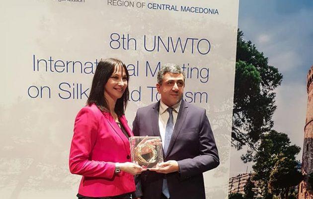Η Κουντουρά δέχθηκε τα συγχαρητήρια του Π.Ο.Τ. για όσα έχει καταφέρει στον τουρισμό