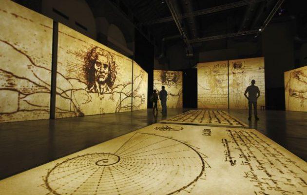 Τρεις μεγάλες εκθέσεις για τη ζωή και το έργο του Λεονάρντο Nτα Βίντσι ενώνονται στην Αθήνα για πρώτη φορά