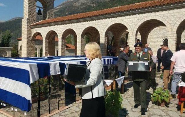 Χάρη στον Κοτζιά 573 στρατιώτες του Αλβανικού Έπους ενταφιάστηκαν μετά από 70 χρόνια