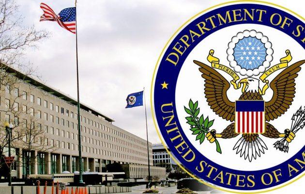 Οι ΗΠΑ στηρίζουν πλήρως το ελληνοϊσραηλινό σχέδιο στην Αν. Μεσόγειο (Στέιτ Ντιπάρτμεντ)