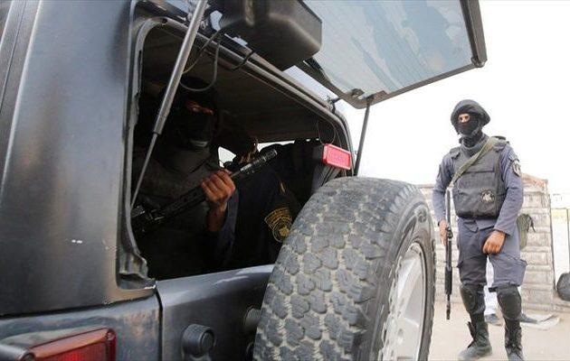 Δέκα τζιχαντιστές νεκροί σε μάχη με Αιγύπτιους αστυνομικούς στο βόρειο Σινά
