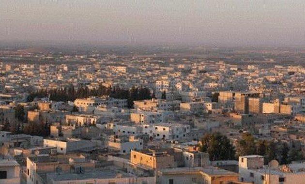 Κάτοικοι της Αλ Μπαμπ στη βορειοδυτική Συρία διαδήλωσαν κατά της τουρκικής κατοχής