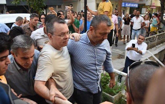 Κρίσιμες ώρες για τον πάστορα Μπράνσον και τις αμερικανο-τουρκικές σχέσεις