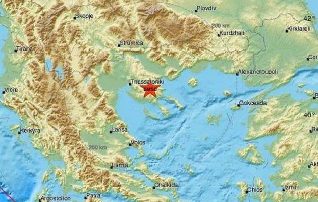 Σεισμός 4,1 Ρίχτερ κοντά στον Πολύγυρο, αισθητός μέχρι τη Θεσσαλονίκη