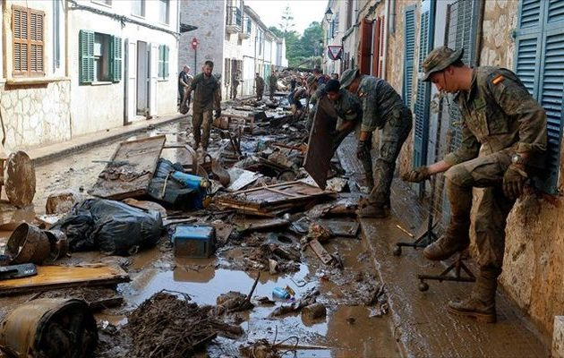 Θρήνος στην Ισπανία – Τουλάχιστον 12 οι νεκροί από τις πλημμύρες στη Μαγιόρκα